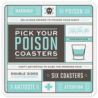 Pick Your Poison Coasters on Wantist
