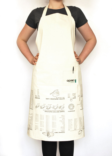 Cooking Guide Apron on person