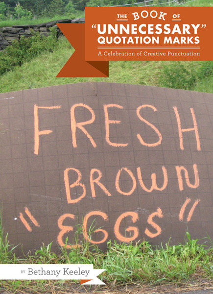 Light peach words on a brown background tells us that fresh brown eggs are available