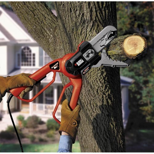 Black And Decker Alligator Lopper Electric Chain Saw Cutting Tree Limb Sixhundred