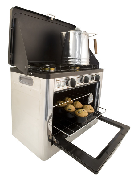 Camp Chef Outdoor Camp Oven 2 Burner Range and Stove on Wantist