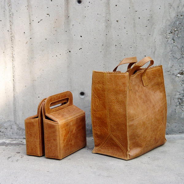 Papr Bag and Sixr by KimKim Artifacts