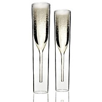 byAMT InsideOut Champagne Glasses - Set of 2
