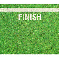 Finish Line Doormat on Wantist