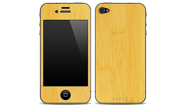 Karvt_iphone4_wood_skin_natural_bamboo-sixhundred