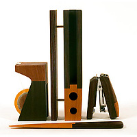 Singgih Kartono Wooden Desk Set