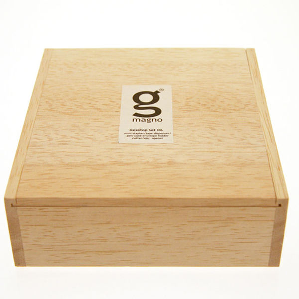 Singgih Kartono Wooden Desk Set on Wantist