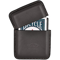 Filson Leather Playing Card Case on Wantist