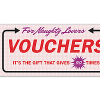 Vouchers For Naughty Lovers booklet