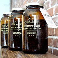 Three Stumptown Hair Bender Jars
